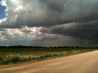 Storm brewing on Drew-Merigold Road.